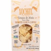 Xochitl The Dipper White Corn Tortilla Chips Sea Salt Non GMO, 12oz (Pack of 10) - 10