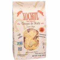 Xochitl No Salt Corn Chips, 12 OZ (Pack of 10) - 10