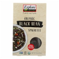 Explore Cuisine Organic Black Bean Spaghetti - Spaghetti - Case of 6 - 8 oz.