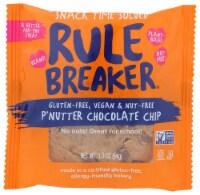 Rule Breaker Gluten Free,Vegan,& Nut-Free P'Nutter Chocolate Chip 1.9oz PK 12 - 12