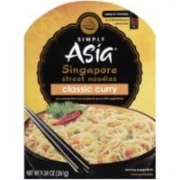 Simply Asia Curry Singapore Street Noodles - 9.24 oz