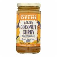 Brooklyn Delhi - Golden Coconut Curry Simmer Sauce - Case of 6 - 12 oz - Case of 6 - 12 OZ each