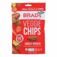 Brad's Plant Based - Chips - Organic - Sweet Potato - Case of 12 - 3 oz - 3 OZ