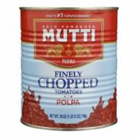Mutti - Tomatoes Fine Chopped - Case of 6 - 28 OZ - Case of 6 - 28 OZ each