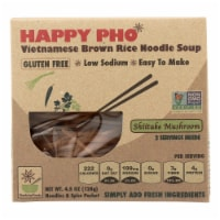 Star Anise Foods Soup - Brown Rice Noodle-Vietnamese-Happy Pho-Shiitake Mushroom-4.5 oz-6Case - Case of 6 - 4.5 OZ each