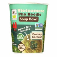 Star Anise Foods Creamy Coconut Brown Rice Noodles Case - 6 ct / 1.9 oz