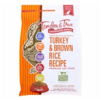 Tender & True Cat Food, Turkey And Brown Rice - Case of 6 - 3 LB - Case of 6 - 3 LB each