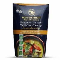Blue Elephant Royal Thai Cuisine Premium Thai Yellow Curry Sauce, 10.6 oz [Pack of 6] - 6
