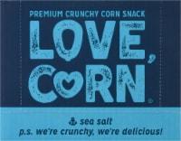 Love Corn Sea Salt Roasted Corn Snack - 10 ct / 1.6 oz