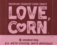 Love Corn Smoked BBQ Roasted Corn Snacks