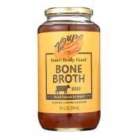 Zoup! Good Really Good - Bone Broth - Beef - Case of 6 - 31 fl oz. - Case of 6 - 32 OZ each