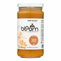 Bloom Honey - Honey - Turmeric Infused Orange Blossom - Case of 6 - 16 oz. - Case of 6 - 16 OZ each