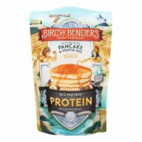 Birch Benders - Pancake and Waffle Mix - Protein - Case of 6 - 16 oz - 16 OZ