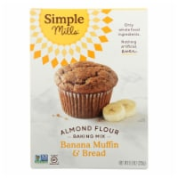Simple Mills Almond Flour Banana Muffin and Bread Mix - Case of 6 - 9 oz. - 9 OZ
