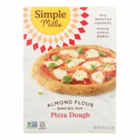 Simple Mills Almond Flour Pizza Dough Mix - Case of 6 - 9.8 oz. - 9.8 OZ