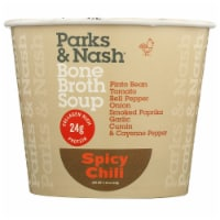 Parks & Nash Bone Broth Soup Spicy Chili Soup, 2.18 oz [Pack of 6] - 6