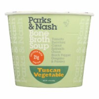 Bone Broth Soup - Soup Cup - Tuscan Vegetable - Case of 6 - 1.23 oz. - Case of 6 - 1.23 OZ each