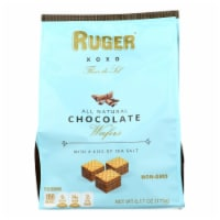 Ruger - Chocolate Wafer Salted Bite Size - Case of 6 - 6.17 OZ - 6.17 OZ