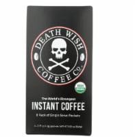 Death Wish Coffee Co Organic Instant Coffee, 8Pk - 8