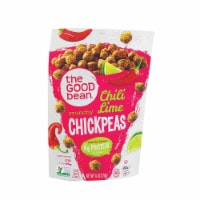 The Good Bean Crispy Crunchy Chickpea Snacks - Smoky Chili and Lime - Case of 6 - 6 oz. - Case of 6 - 6 OZ each