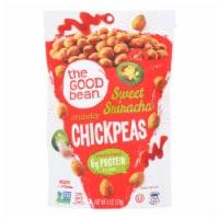 The Good Bean Crunchy Chickpeas Sweet Sriracha Medium - Case of 6 - 6 OZ - Case of 6 - 6 OZ each