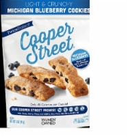 Cooper Street Lemon Blueberry Twice-Baked Cookies Nut free & Dairy Free  5.0Z  (Pack of 6) - 6