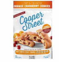 Cooper Street Orange Cranberry Twice-Baked Cookies Nut free & Dairy Free  5.0Z (Pack of 6) - 6