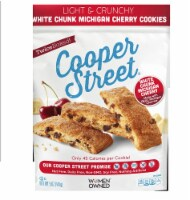 Cooper Street Cherry White Chunk Twice-Baked Cookies Nut free & Dairy Free  5.0Z (Pack of 6) - 6