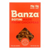 Banza - Pasta Chickpea Rotini - Case of 6 - 8 oz.