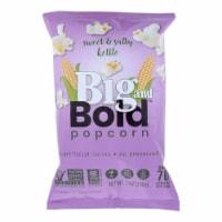 Poptime Big & Bold Sweet & Salty Kettle Popcorn Non-GMO, Gluten Free ,6oz (Pack of 6) - 6