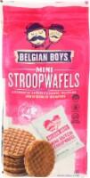 Belgian Boys Mini StroopWafels Non GMO 5.08OZ (Pack of 12)