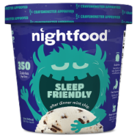 Nightfood, Sleep Expert Approved - After Dinner Mint Chip, Pint (8 Count) - 8 Count