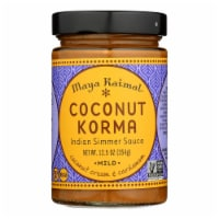 Maya Kaimal - Simmer Sauce Coconut Korma - Case of 6 - 12.5 OZ - 12.5 OZ