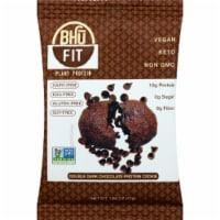 Bhu Fit Vegan Keto Organic Double Dark Chocolate Protein Cookie, 1.65oz (Pack of 10) - 10
