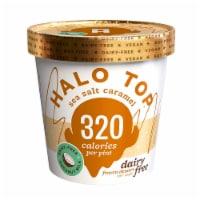 Halo Top Non Dairy Pint, Sea Salt & Caramel, 16 oz. (8 count)