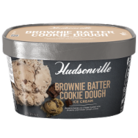 Hudsonville, Brownie Batter Cookie Dough, 48 oz. Scround (4 Count) - 4 Count