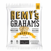 Remys Nut Free All Natural Honey Grahams, 1 Ounce -- 192 per case. - 192-1 OUNCE