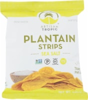 Artisan Tropic Plantain Strips Sea Salts Gluten Free & Non GMO 1.2 oz (Pack of 16) - 16