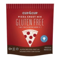 Cup 4 Cup - Pizza Crust Mix - Case of 6 - 18 oz. - Case of 6 - 18 OZ each