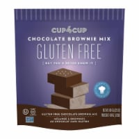 Cup 4 Cup - Chocolate Brownie Mix - Case of 6 - 14.25 oz. - Case of 6 - 14.25 OZ each