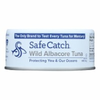 Safe Catch - Tuna Wild Albacore - Case of 12 - 5 OZ