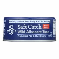 Safe Catch Wild Albacora Tuna - Case of 12 - 5 OZ