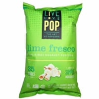 Live Love Pop Popcorn Lime Fresco, 4.4oz (Pack of 12) - 12