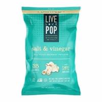 Live Love Pop Popcorn Salt & Vinegar, 4.4oz (Pack of 12) - 12