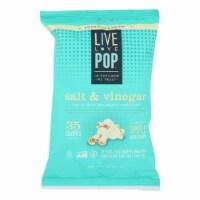 Live Love Pop Popcorn Salt & Vinegar, 1oz (Pack of 24) - 24