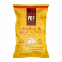 Live Love Pop Popcorn Cheddar & Sour Cream - 12 ct / 4.4 oz