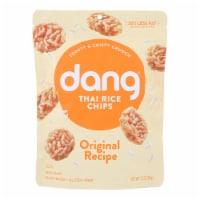 Dang - Sticky Rice Chips - Original - Case of 12 - 3.50 oz - Case of 12 - 3.50 OZ each
