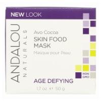 Andalou Naturals Skin Food Nourishing Mask Avo Cocoa - 1.7 fl oz
