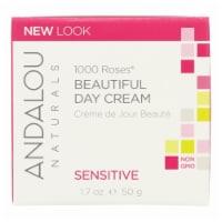 Andalou Naturals Beautiful Day Cream - 1000 Roses - 1.7 oz