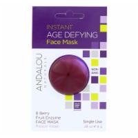 andalou Naturals Instant Age Defying Face Mask - 8 Berry Fruit Enzyme - Case of 6 - 0.28 oz - Case of 6 - 0.28 OZ each